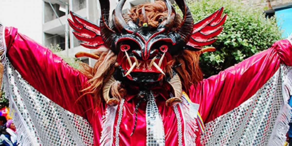 Más de 150.000 personas han visto bailar diablos en los Andes de Ecuador