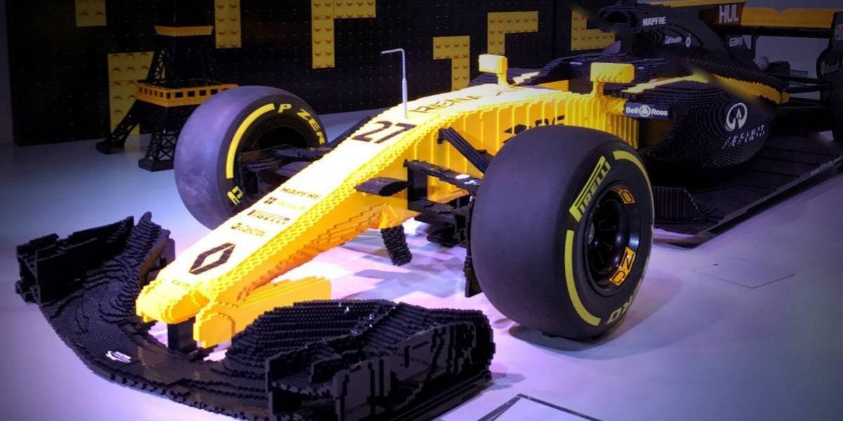 Otra locura de Lego: hicieron un Renault RS17 a escala real