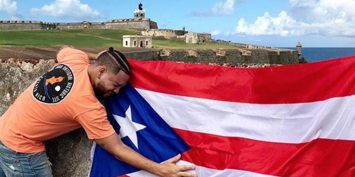 Lejuan James llega a Puerto Rico para celebrar Reyes