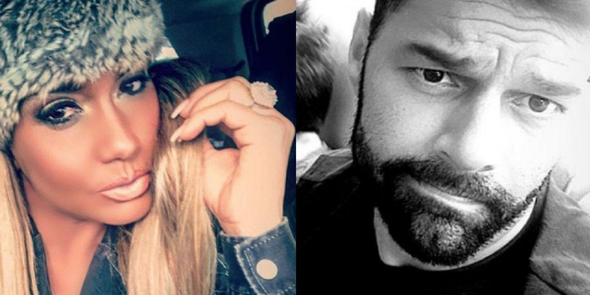 Maripily se copia de Ricky Martin