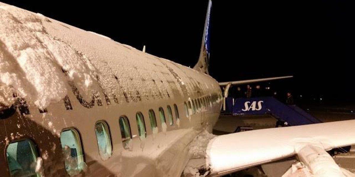 Aumenta a 33 cifra de vuelos cancelados por tormenta en EEUU