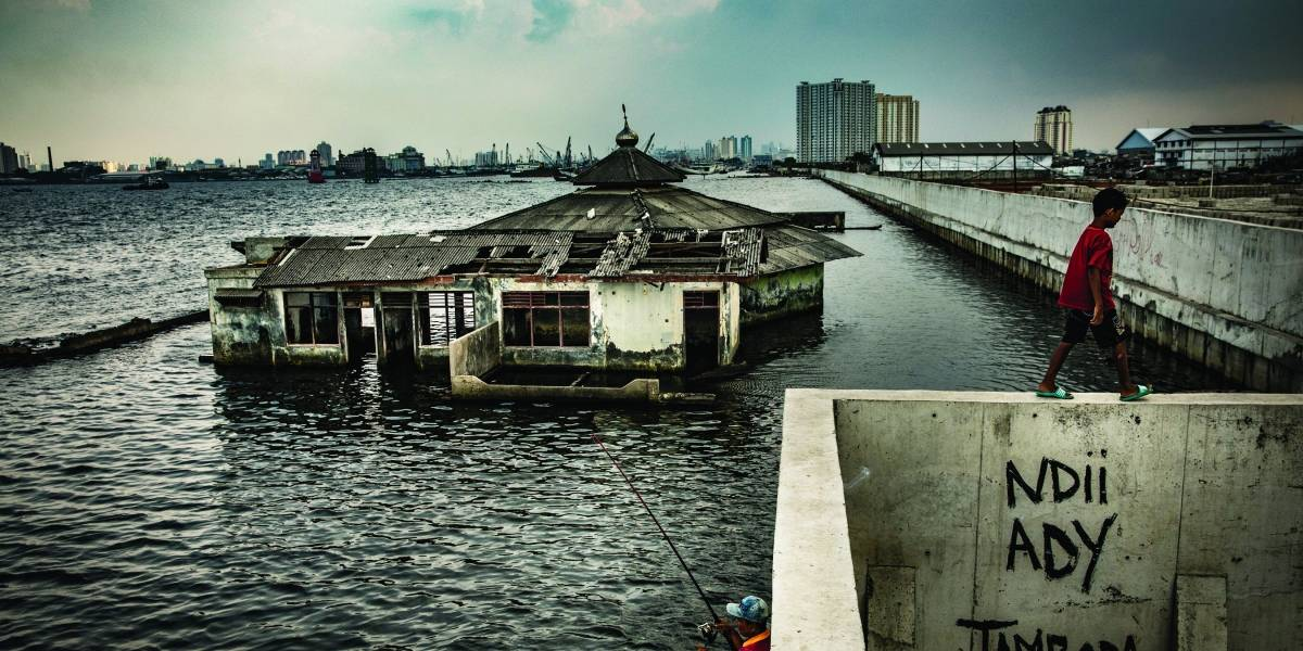La ciudad que corre el peligro de ahogarse en el mar