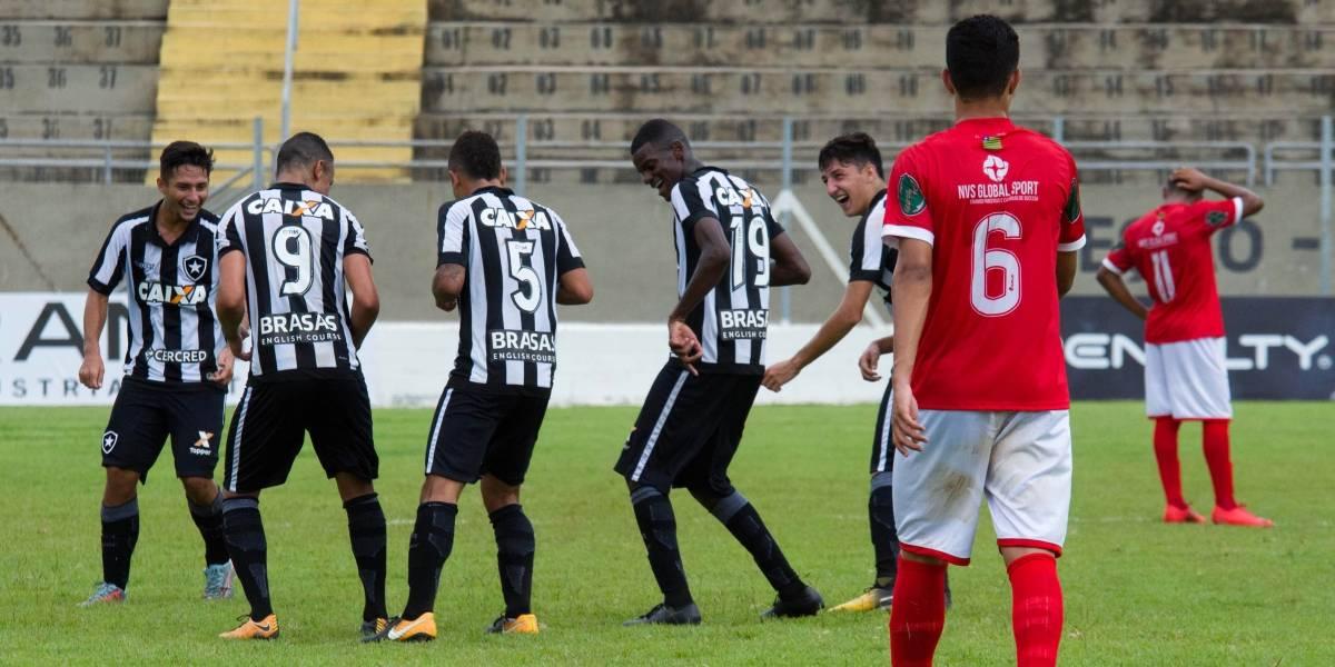 Botafogo vence River-PI com maior goleada da Copa São Paulo 2018