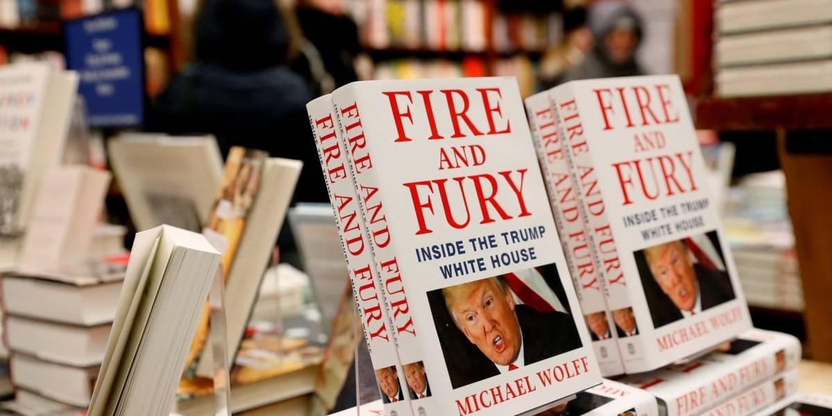 Trump rebate acusações de livro polêmico e se descreve como 'gênio'