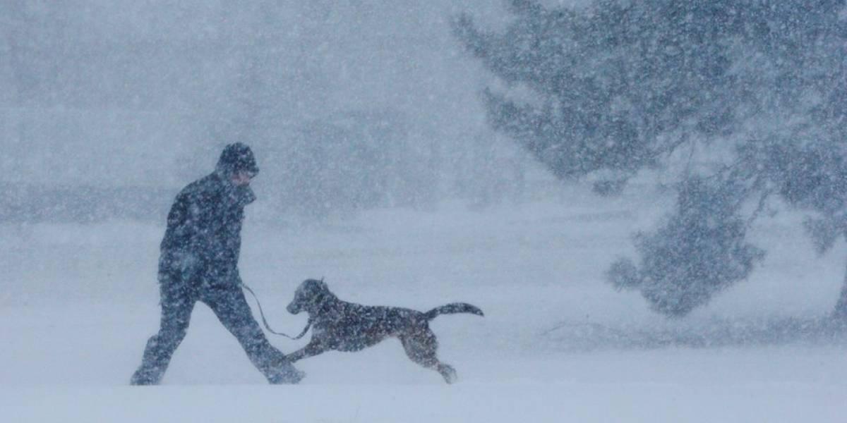 Se aproxima la cuarta tormenta de nieve a N.Y.