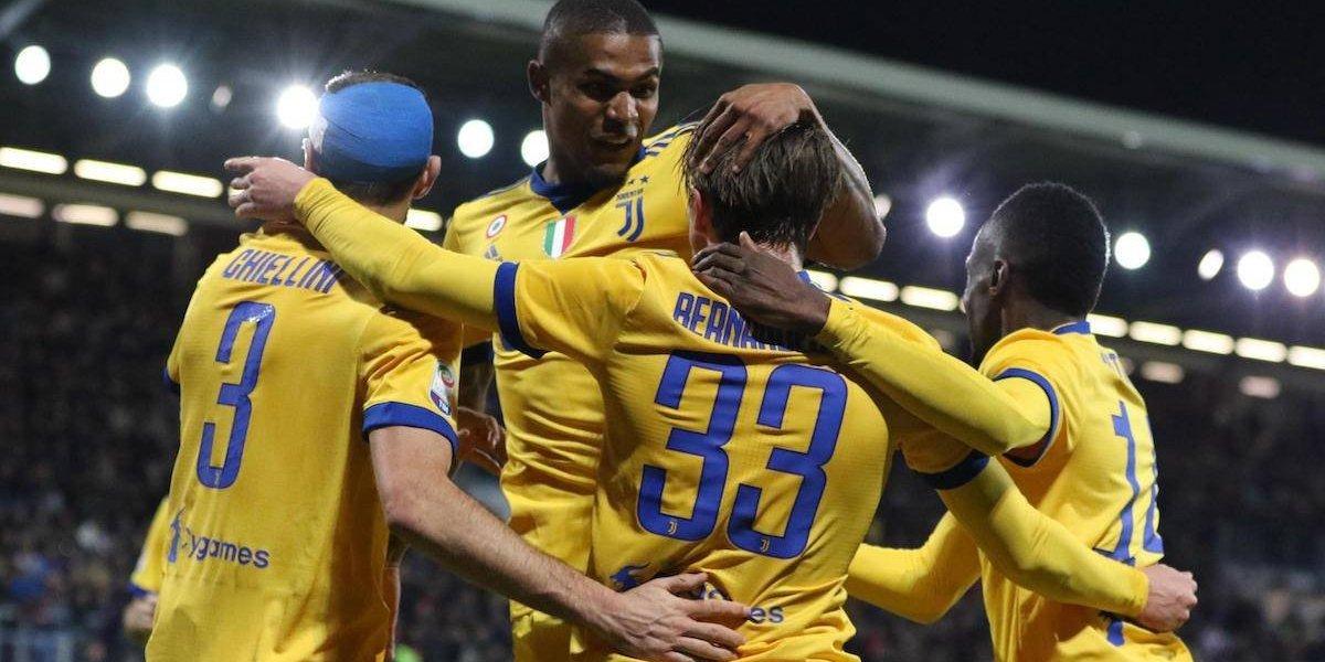 Juventus se mantiene en la pelea por la Serie A tras vencer a Cagliari
