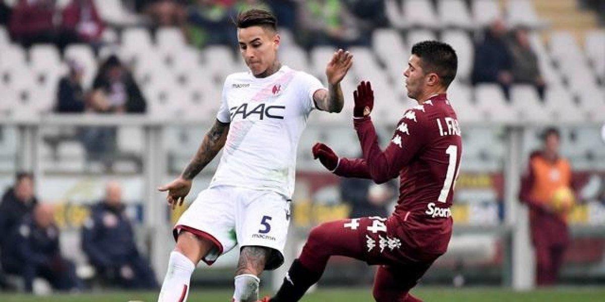 Erick Pulgar erró un penal en apabullante derrota de Bologna a manos de Torino