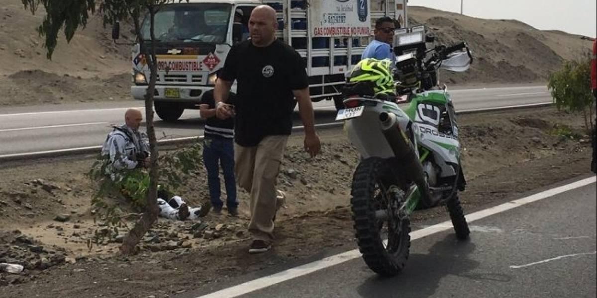 No alcanzó ni a correr: El Rally Dakar ya tiene su primer abandono