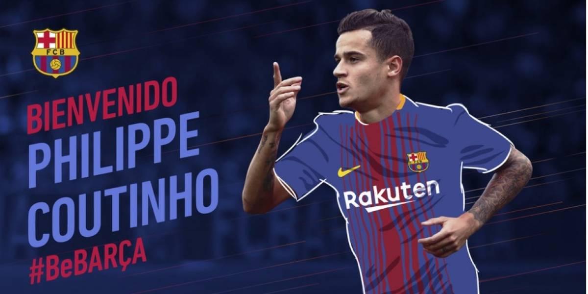 FC Barcelona realizó la inversión más alta de su historia para asegurar a Phillipe Coutinho