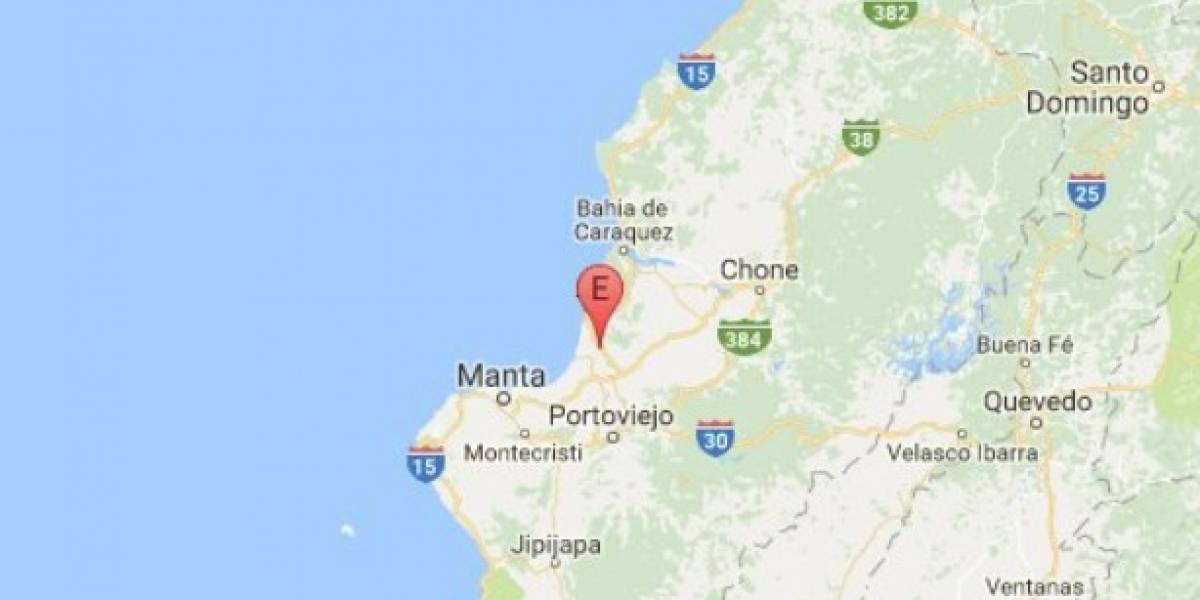 Sismo de magnitud de 4.5 grados se sintió en Rocafuerte, Manabí