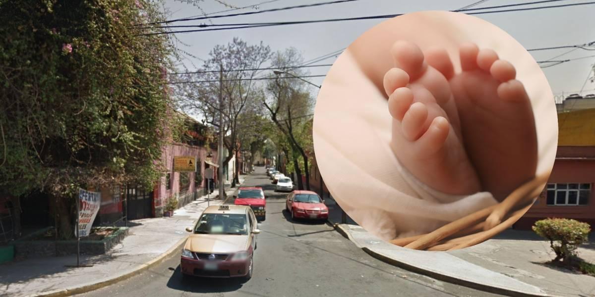 Abandonan a recién nacida en la delegación Cuauhtémoc
