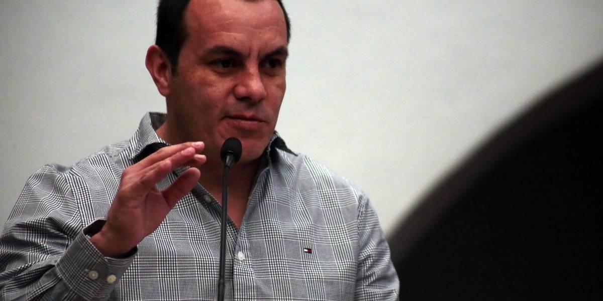 Blanco se perfila como candidato de Morena-PES-PT para gobernar Morelos