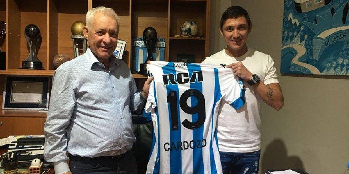 Neri Cardozo se convierte en jugador del Racing