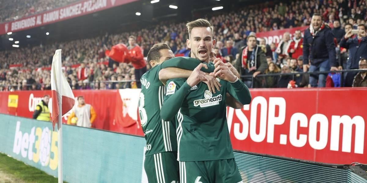 Con Andrés Guardado de titular, Real Betis vence al Sevilla