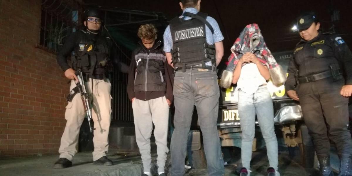 Dos menores remitidos por fingir secuestro a cambio de 5 mil quetzales