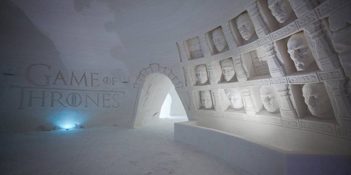 Hotel de gelo inspirado em 'Game of Thrones' inaugura na Finlândia