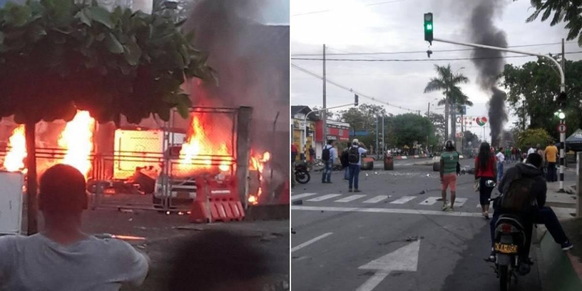 2 muertos y 12 capturados: balance parcial de protestas en Urabá por cobro de peajes