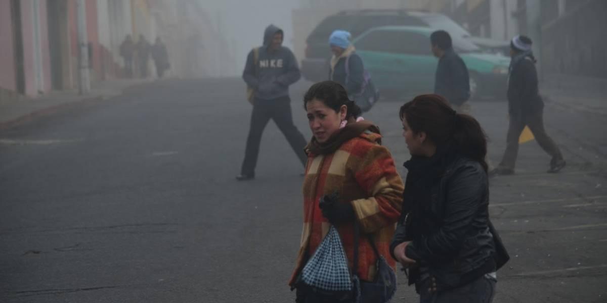 Temperaturas mínimas para Guatemala en este frío sábado