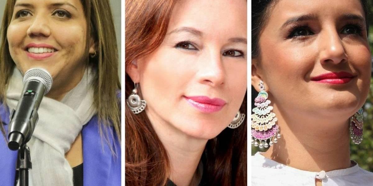 La reacción de Espinosa y Alvarado tras la designación de Alejandra Vicuña como vicepresidenta