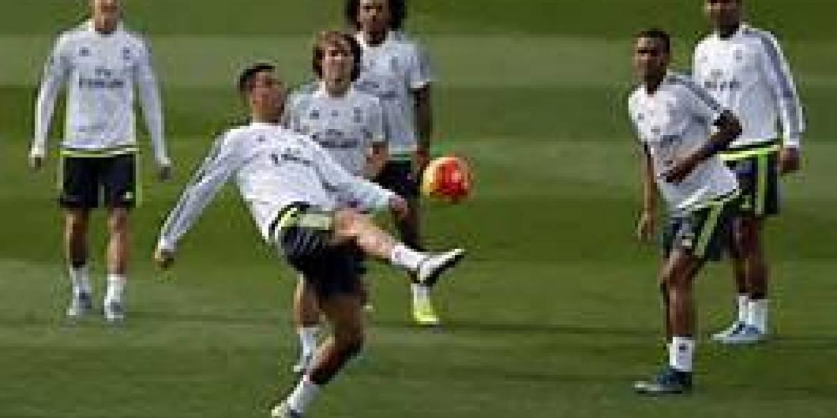 El Real Madrid completa su último entrenamiento antes del duelo en Balaídos