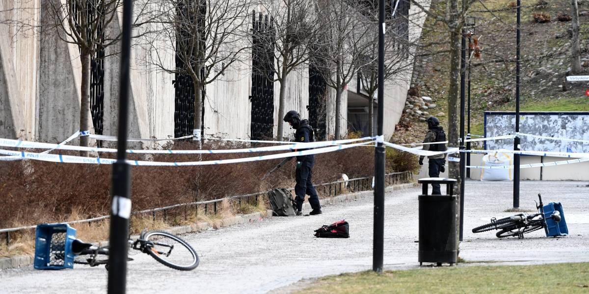 Al menos un muerto y un herido por explosión de artefacto en Suecia