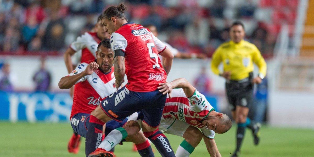 Tedioso empate entre Necaxa y Veracruz