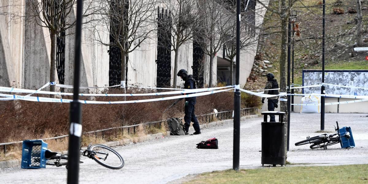Explosão em frente a estação de metrô em Estocolmo deixa um morto