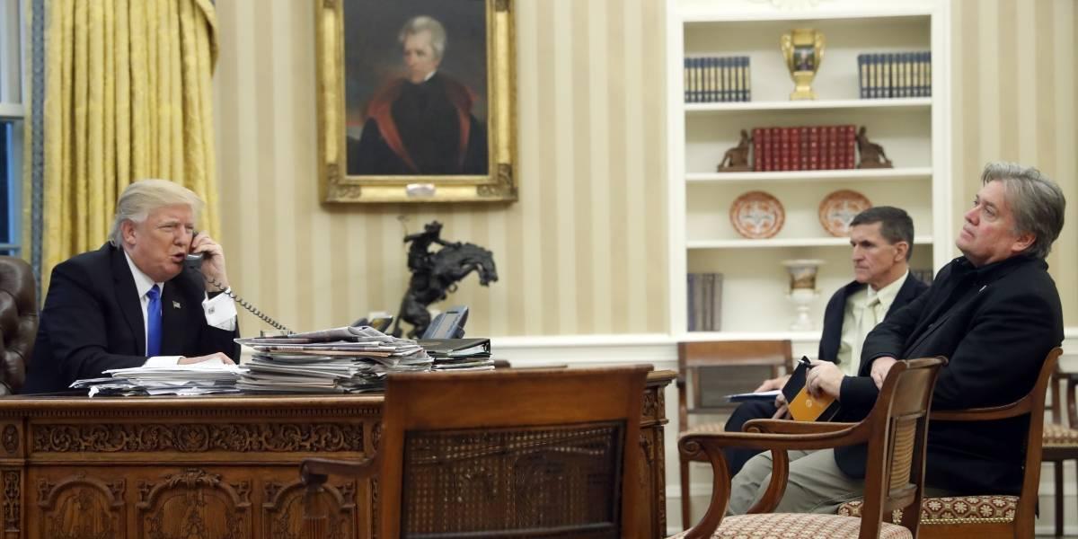 Bannon se 'arrepiente' por críticas a Trump