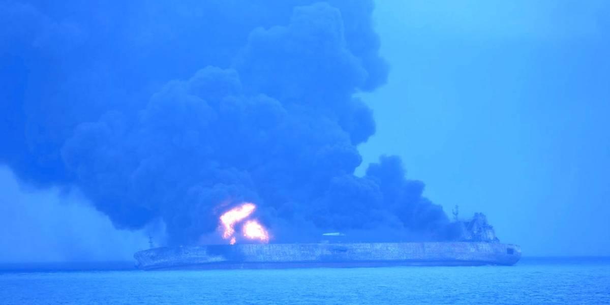 Buscan a 32 personas tras colisión marítima cerca de China