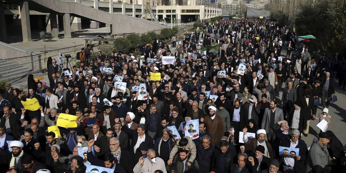 Detienen a ex presidente de Irán por incitar a la violencia