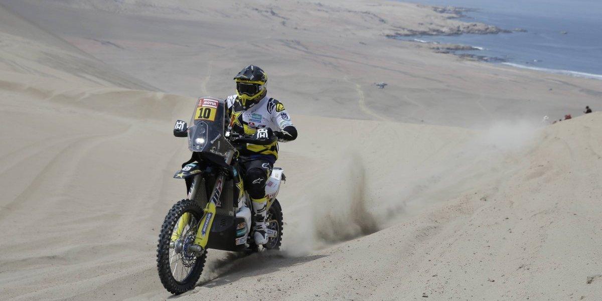 Rally Dakar 2018: Pablo Quintanilla sufre en la segunda etapa