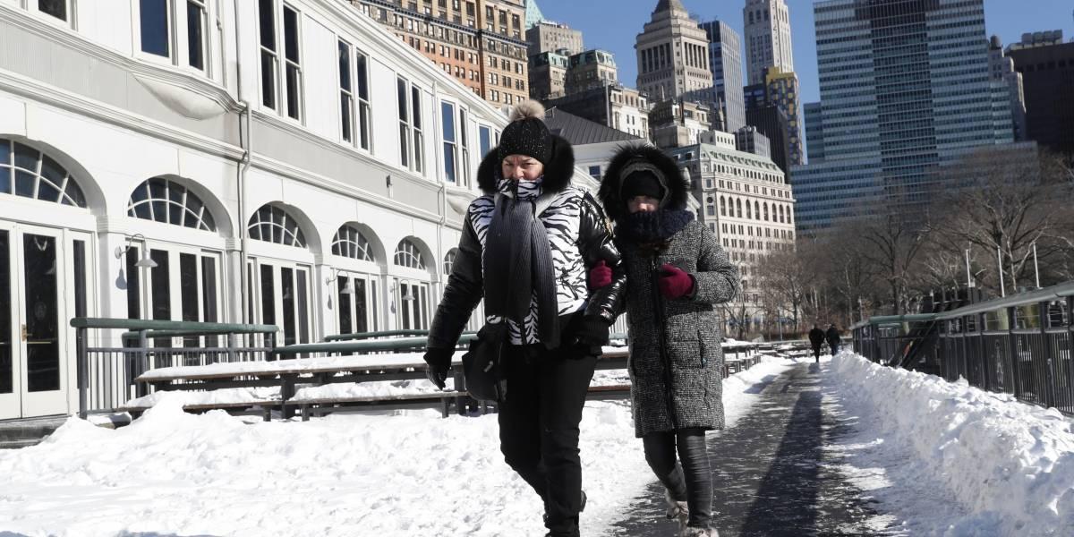 Frío en Estados Unidos vuelve a romper récords