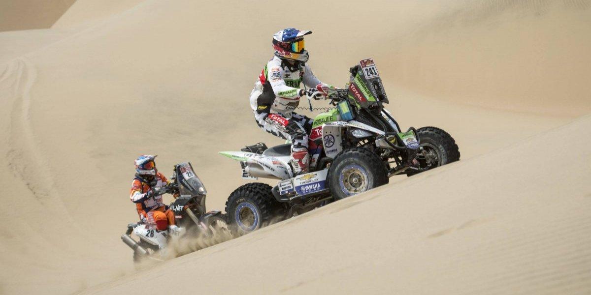 Ignacio Casale le dio sabor chileno a Pisco y se quedó con la segunda etapa del Dakar