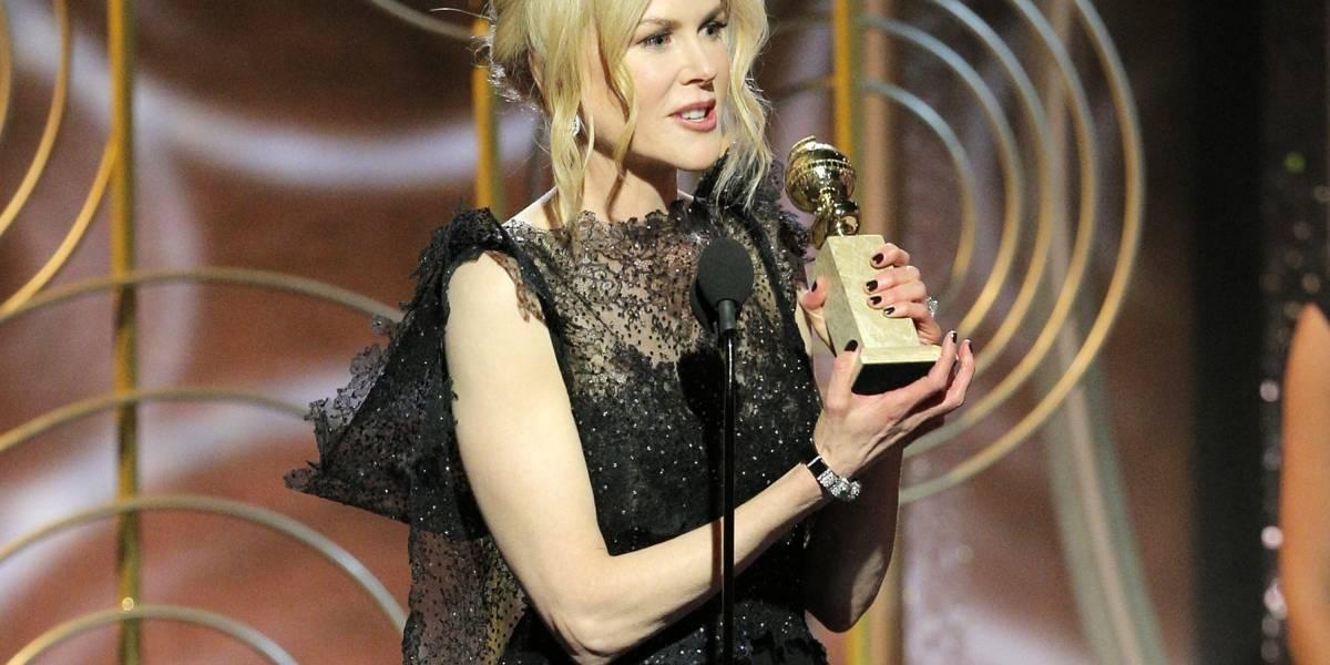 Nicole Kidman y Elisabeth Moss se llevan Globos de Oro