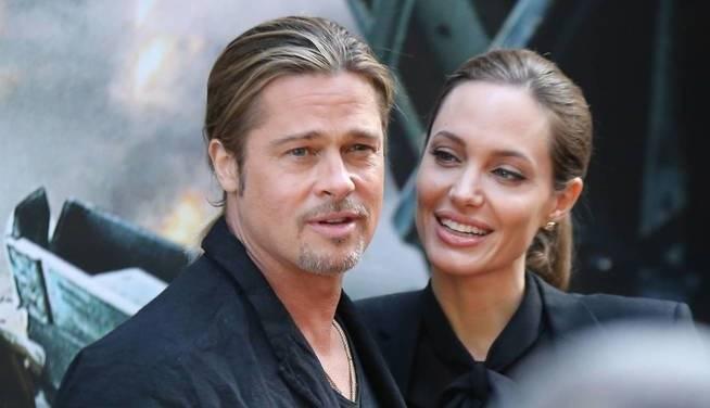 Agelina Jolie y Brad Pitt Golden Globes