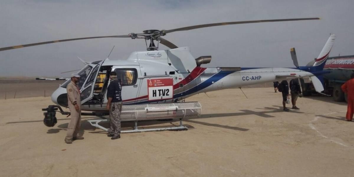 Entre ceacheí, rescatados y una gran hermandad: La legión chilena que comanda el Dakar en los aires