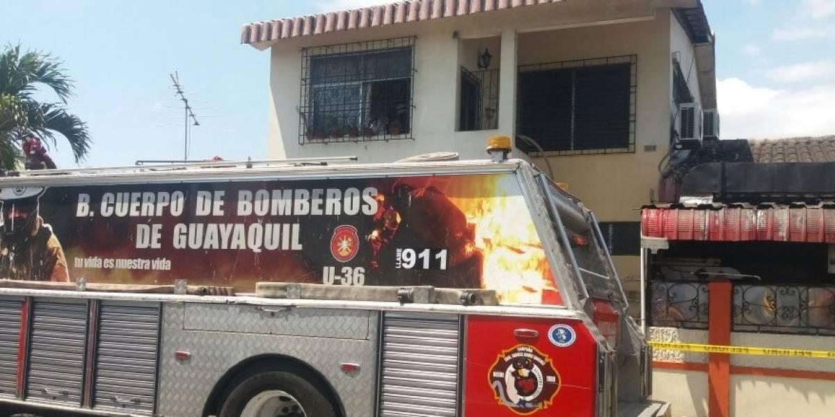 Anciana de 86 años muere en incendio en Guayaquil