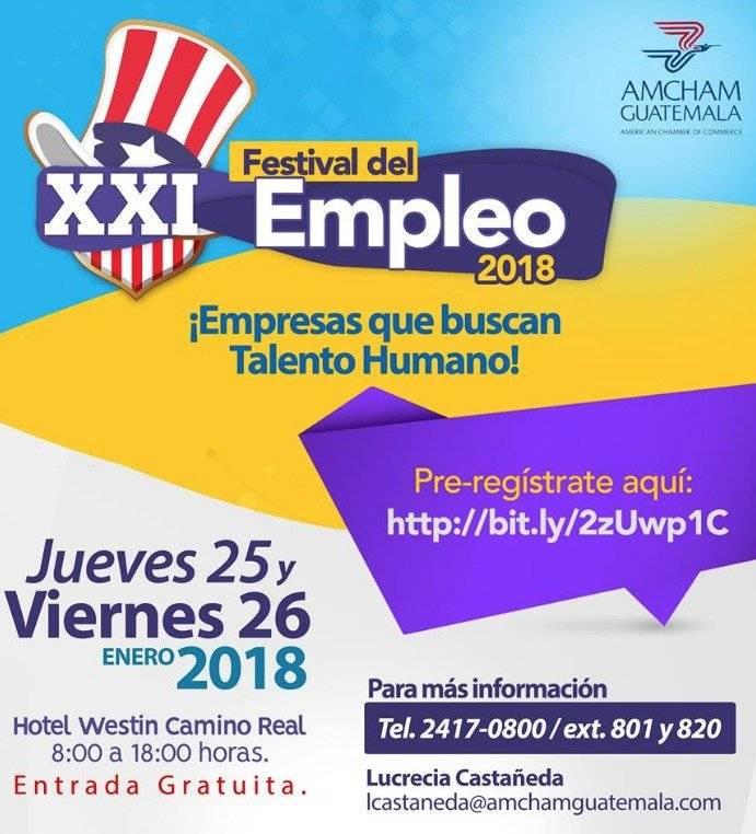 Acá hay más información sobre el festival de empleo.