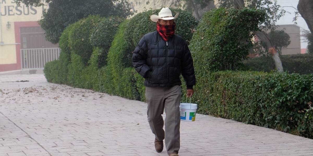 Nuevo frente frío provocará bajas temperaturas en gran parte del país