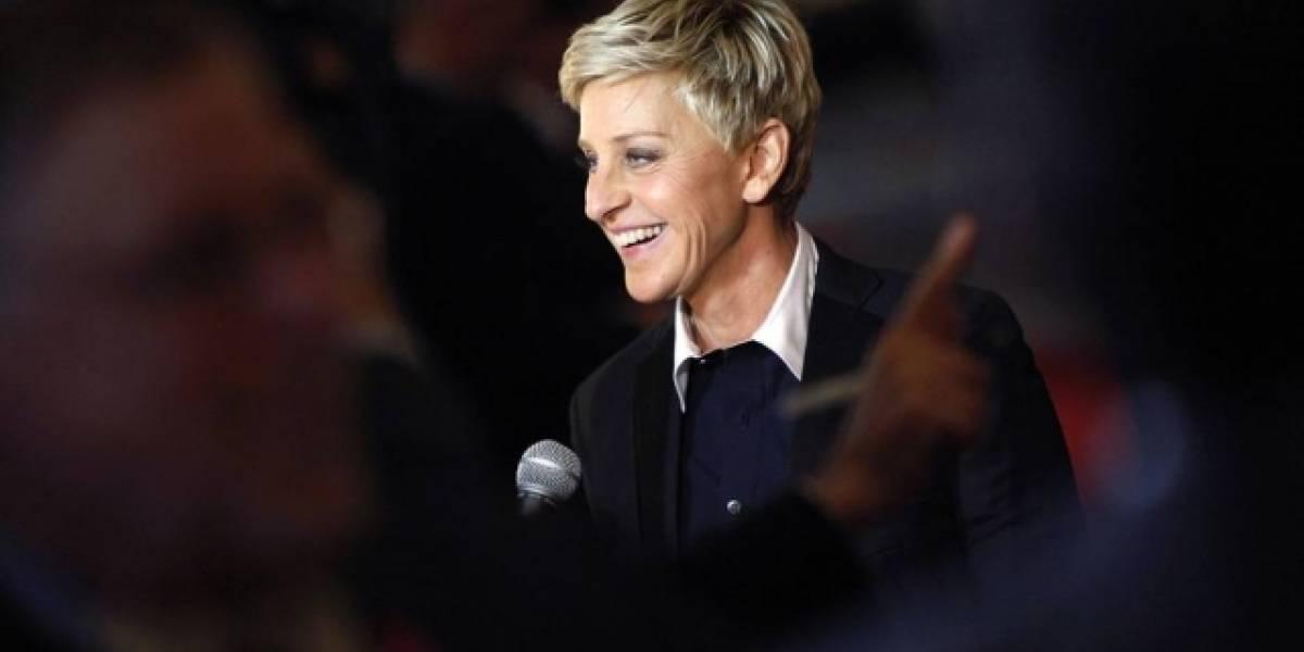 Ellen DeGeneres faz piada após ser acusada de conspiração por filho de Trump