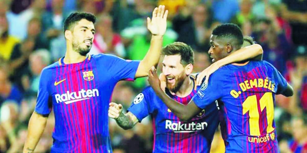 Fútbol: El Barcelona continúa imparable y el Real Madrid se desinfla