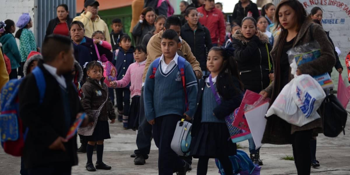 Este lunes más de 25 millones de alumnos volverán a clases