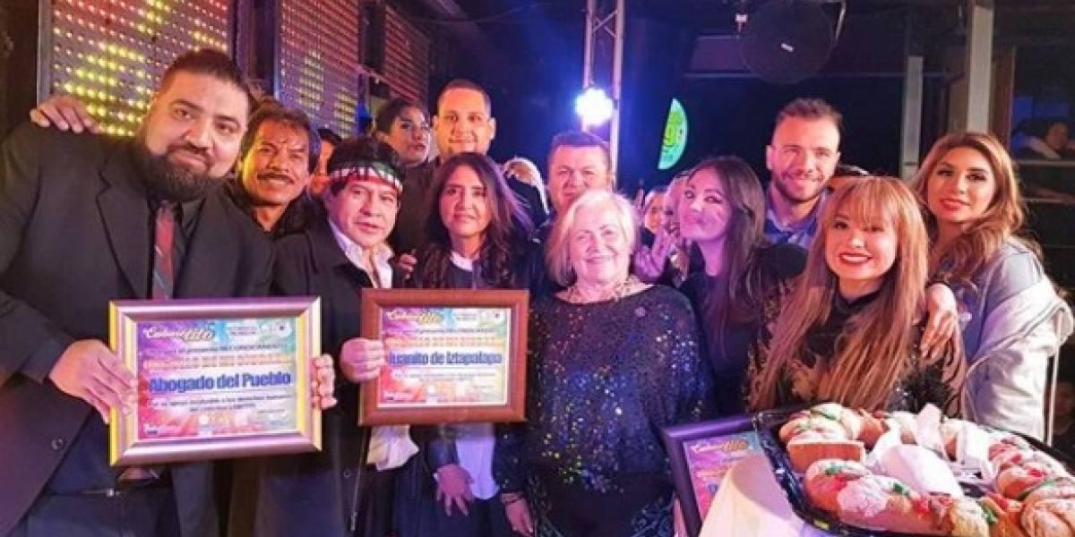 Juanito y Barrales parten Rosca de Reyes en 'Cabaretito'