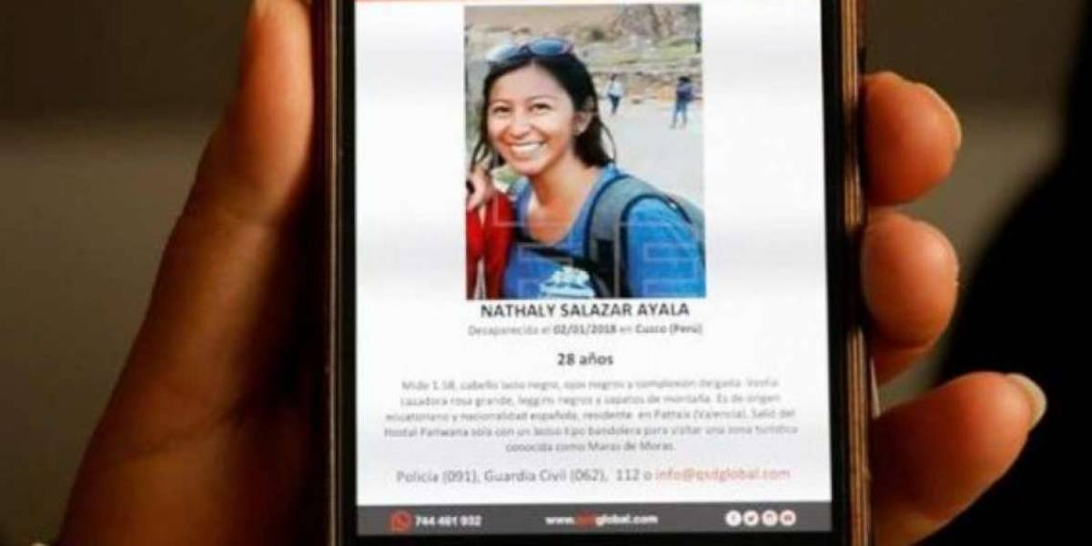 Padres de ecuatoriana desaparecida en Perú viajan a Lima con fe en hallarla