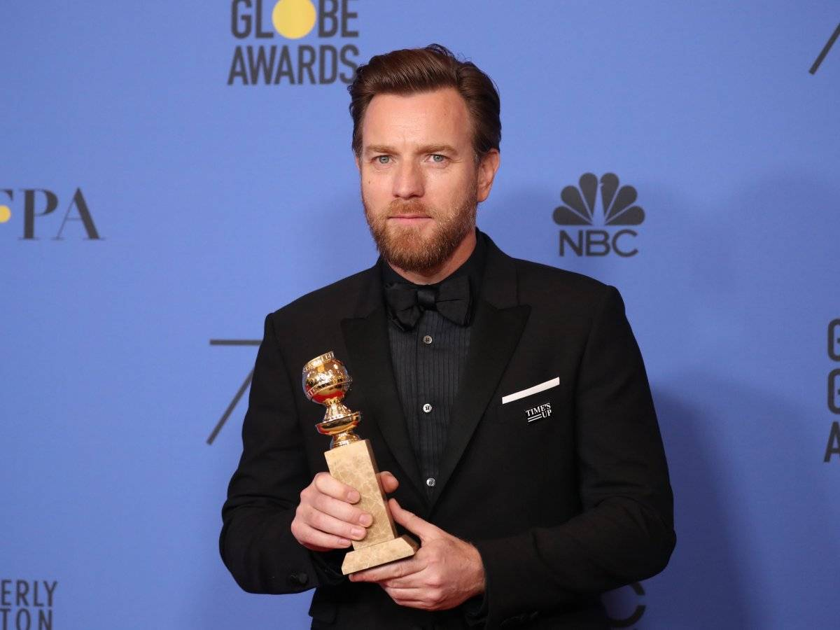 """Ewan McGregor venceu a categoria de melhor ator em minissérie ou telefilme por """"Fargo"""" REUTERS/Lucy Nicholson"""