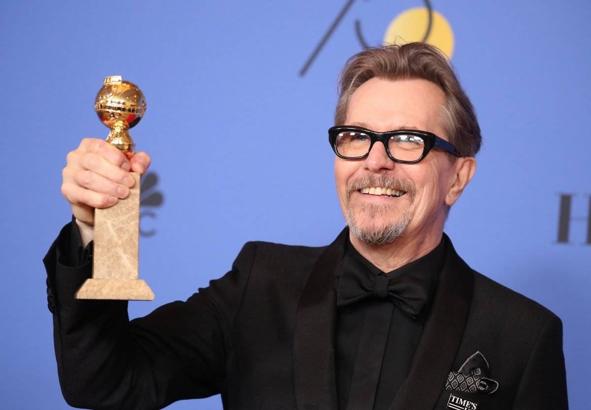 """Gary Oldman venceu como melhor ator em filme de drama por """"O Destino de uma Nação"""" REUTERS/Lucy Nicholson"""