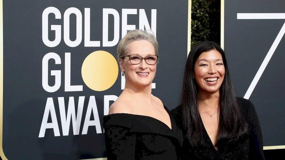 Meryl Streep en los Globos de Oro Getty Images