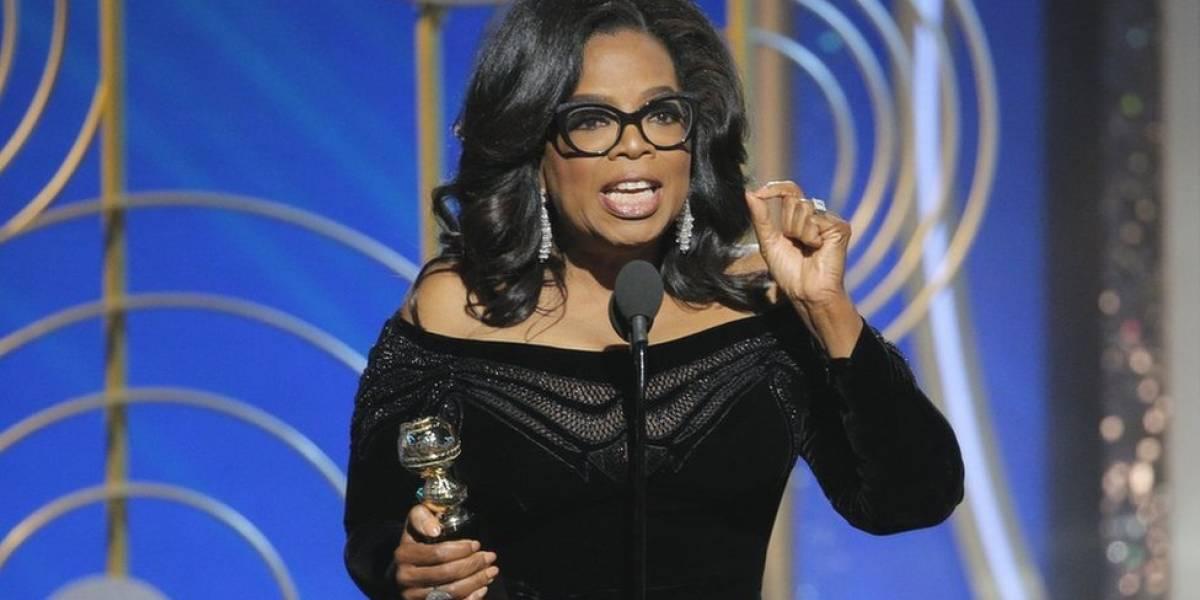 Con el viento a su favor Oprah en tanteo presidencial
