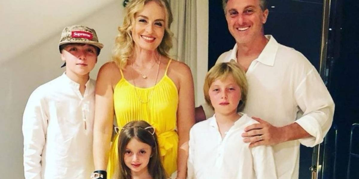 Após três filhos com Luciano Huck, Angélica conta que não pode mais engravidar