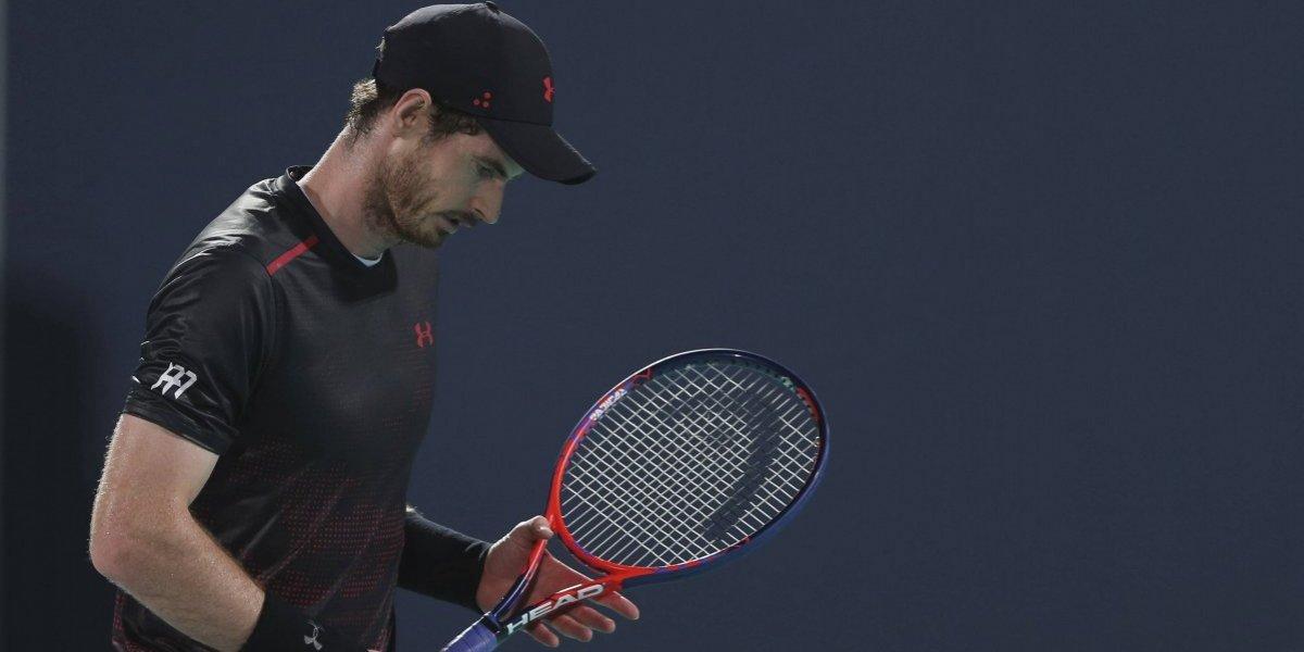 Andy Murray es operado de la cadera y no jugará hasta junio